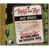 Cd Os Paralamas Do Sucessos   Rock In Rio 1985   Novo