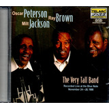 Cd Oscar Peterson ray Brown & Milt Jackson : Very Tall Band