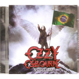 Cd Ozzy Osbourne   Scream   Brazil Edition