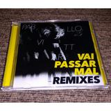 Cd Pabllo Vittar Vai Passar Mal Remixes 2017