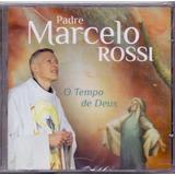 Cd Padre Marcelo Rossi   O Tempo De Deus   Novo Lacrado