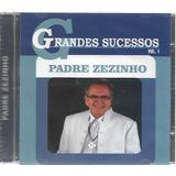 Cd Padre Zezinho Grandes Sucessos Vol 1