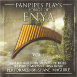 Cd Panpipes Plays Songs Of Enya   Vol  1   Novo