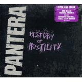 Cd Pantera   History Of Hostility   Capa Digipac