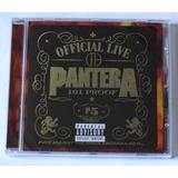 Cd Pantera   Official Live 101 Proof  Novo Lacrado Importado