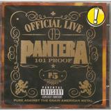 Cd Pantera   Official Live