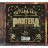 Cd Pantera   Oficial Live 101 Proof
