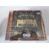 Cd Pantera 101 Proof Live Original