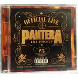 Cd Pantera Official Live Frete Grátis