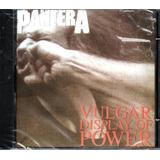 Cd Pantera Vulgar Display Of Power Lacrado
