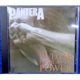 Cd Pantera Vulgar Display Of Power Original Pronta Entrega