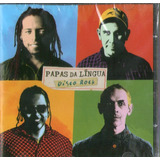 Cd Papas Da Lingua   Disco Rock   Novo