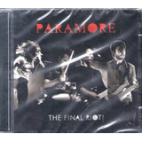 Cd Paramore The Final Riot   Lacrado