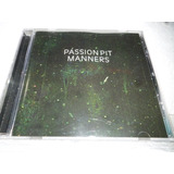 Cd Passion Pit Manners 2009 Usa