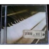 Cd Paulo César Baruk   Leandro Rodrigues   Piano E Voz