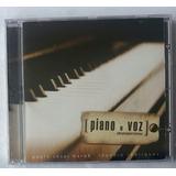 Cd Paulo César Baruk Piano E Voz  Lacrado De Fábrica