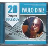 Cd Paulo Diniz   20 Super Sucessos