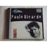 Cd Paulo Ricardo Millennium 1998   Original   Novo   Lacrado