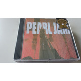 Cd Pearl Jam   Ten   Tiragens Cj & Ck   Lacrado