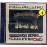 Cd Phil Collins   Serious Hits    Live     Novo