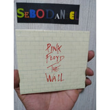 Cd Pink Floyd The Wall Box Duplo   Original E Lacrado