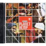 Cd Planet Hemp Ao Vivo Original Lacrado