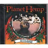 Cd Planet Hemp Usuário Novo Original Lacrado