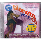 Cd Planeta Dj 2010 David Guetta Bob Sinclair Spyzer Duplo
