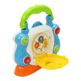 Cd Player Interativo Infantil Para Aprender E Brincar