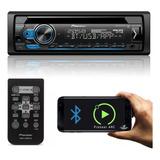 Cd Player Pioneer Deh s4180bt Bluetooth Usb Saída Subwoofer