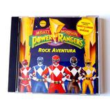 Cd Power Rangers   Rock Aventura   Músicas Do Seriado Da Tv