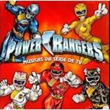Cd Power Rangers Lacrado Raro Não Sandy Eliana Angelica Xuxa