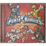 Cd Power Rangers Musica Da Serie De Tv   D1