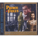Cd Prince Of Foxes Alfred Newman Film Score Monthly Original