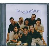 Cd Projet Art Futuro Garantido Bônus Pb Lc86