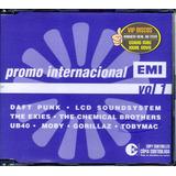 Cd Promo Internacional Emi Vol 1 Daft Punk Lcd Soud System