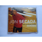 Cd Promo John Secada   There s No Sunshine Anymore Remixes