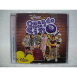 Cd Quando Toca O Sino  Disney Channel