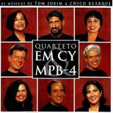 Cd Quarteto Em Cy Mpb 4 Bate Boca Romântico Pop Seresta Raro