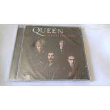 Cd Queen  Greatest Hits Lacrado De Fábrica Remaster