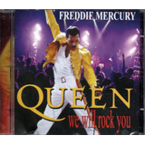 Cd Queen E Freddie Mercury   We Will Rock You