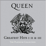 Cd Queen Greatest Hits 1  2 E 3 The Platinum Collection