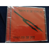 Cd Queens Of The Stone Age   Songs For The Deaf Lacrado Foo