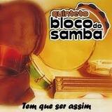 Cd Quinteto Bloco Do Samba Raridade Lacrado