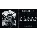 Cd Quinteto Em Branco E Preto Riqueza Do Brasil 2000 Usado