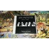 Cd Quinteto Em Branco E Preto Riqueza Do Brasil Original