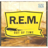 Cd R e m    Out Of Time   Novo