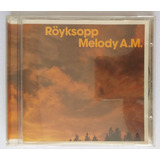 Cd Röyksopp   Melody A m   2001 Uk Import