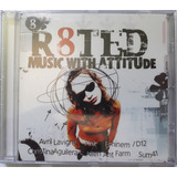 Cd R8ted: Music With Attitude  avril  Eminem  Pink  Sum41