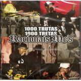 Cd Racionais Mc s   1000 Trutas 1000 Tretas   Novo